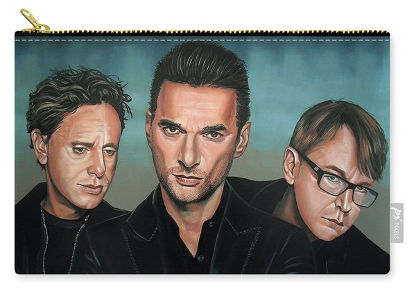 Depeche Mode Painting Carry-all Pouch
