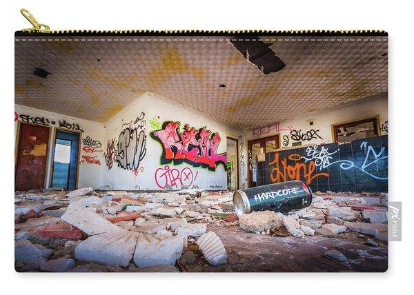 Derelict Campsite Building. Carry-all Pouch