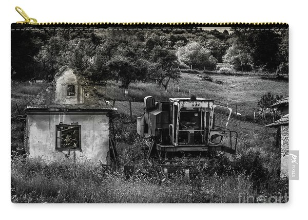 Derelict Farm, Transylvania Carry-all Pouch