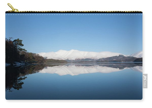Derwentwater Winter Reflection Carry-all Pouch