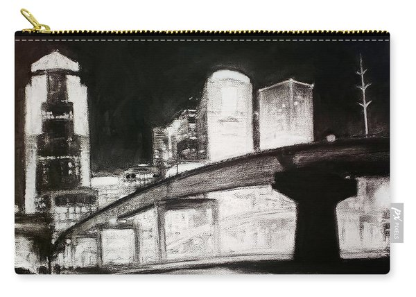Des Moines Skyline #10 Carry-all Pouch