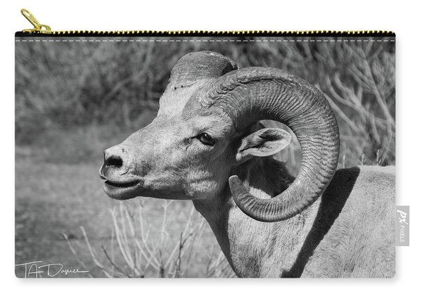 Desert Bighorn Carry-all Pouch