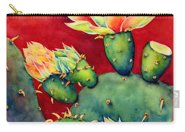 Desert Bloom Carry-all Pouch