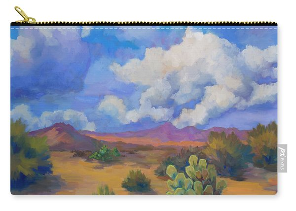 Desert Clouds Passing Carry-all Pouch