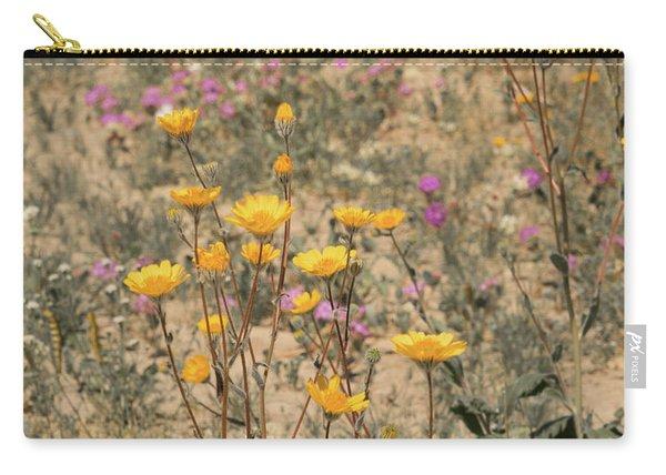 Desert Daisy Carry-all Pouch