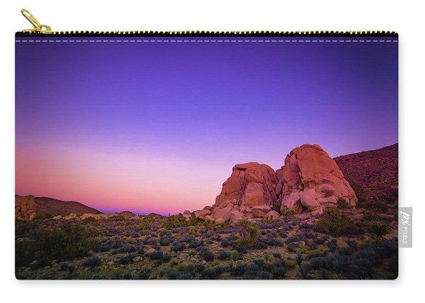 Desert Grape Rock Carry-all Pouch