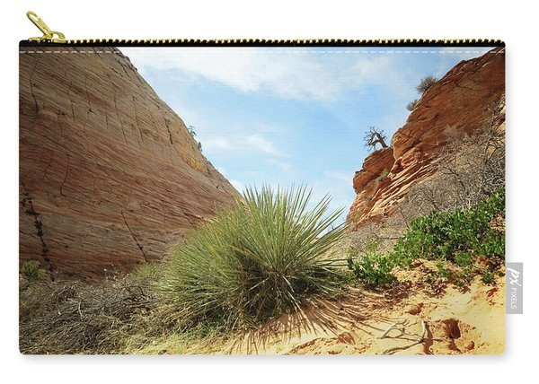 Desert Greenery Carry-all Pouch