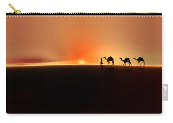 Desert Mirage Carry-all Pouch