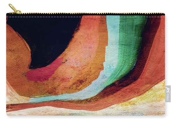 Desert Night-abstract Art By Linda Woods Carry-all Pouch