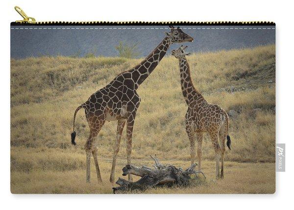 Desert Palm Giraffe Carry-all Pouch