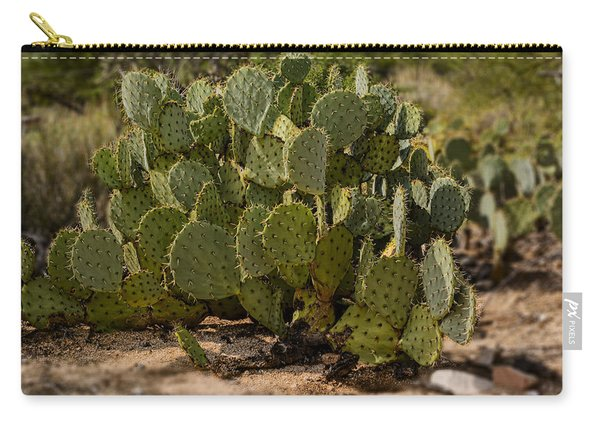Desert Prickly-pear No6 Carry-all Pouch
