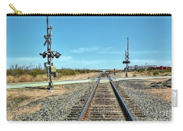 Desert Railway Crossing Carry-all Pouch