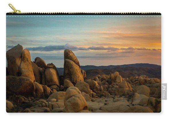 Desert Rocks Carry-all Pouch