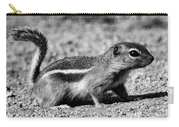 Scavenger, Black And White Carry-all Pouch
