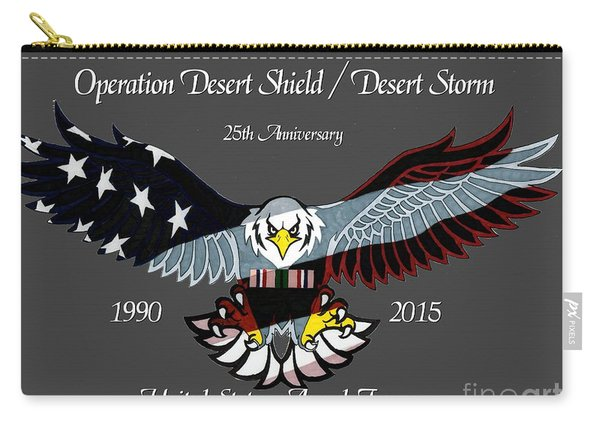 Desert Storm 25th Anniversary Carry-all Pouch