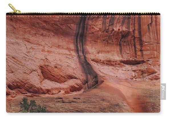 Desert Varnish Along Burr Trail Carry-all Pouch
