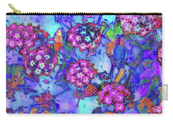 Carry-all Pouch featuring the photograph Desert Vibe Bloom by Michael Hope