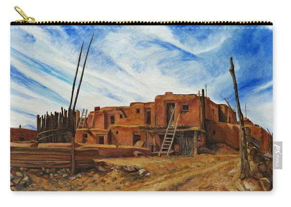 Desert Village New Mexico Carry-all Pouch