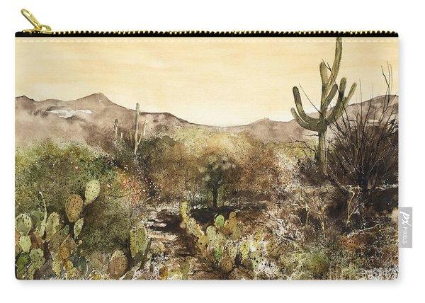 Desert Walk Carry-all Pouch