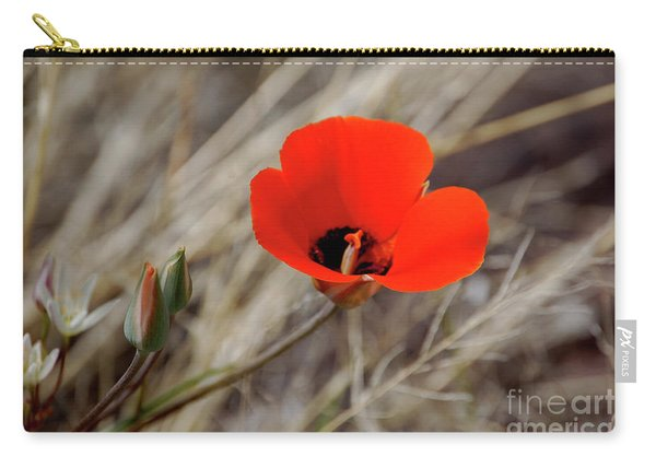 Desert Wildflower Carry-all Pouch