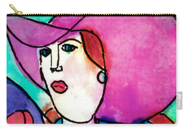 Design Lady Carry-all Pouch