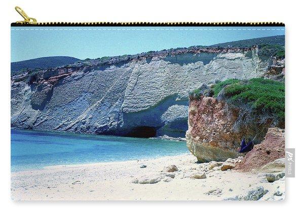 Desolated Island Beach Carry-all Pouch