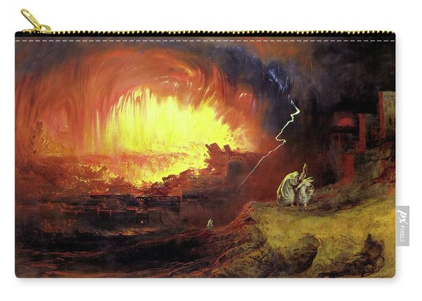 Destruction Of Sodom And Gomorah Carry-all Pouch
