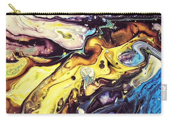 Detail Of Conjuring Carry-all Pouch