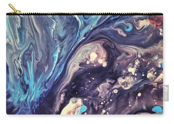 Detail Of Fluid Painting 2 Carry-all Pouch
