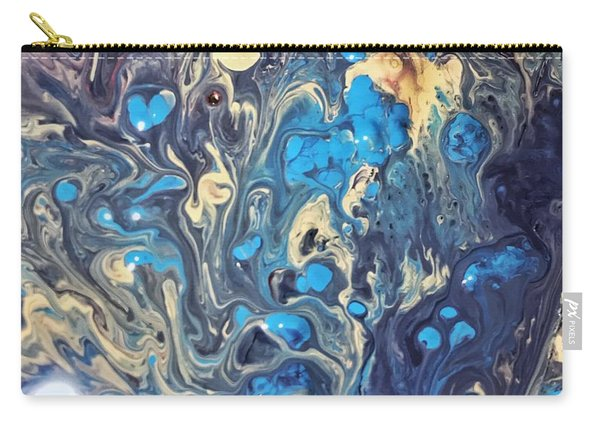 Detail Of Fluid Painting 3 Carry-all Pouch