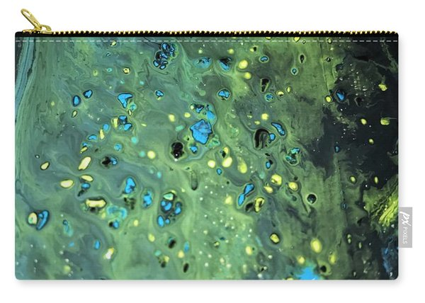 Detail Of Mixed Media Painting Carry-all Pouch