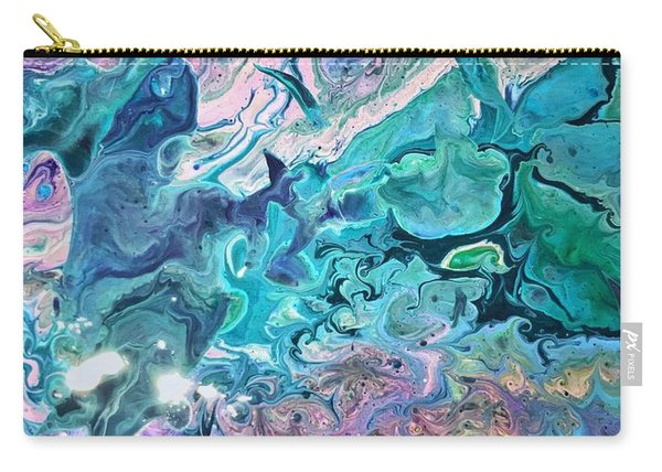 Detail Of Waves 2 Carry-all Pouch