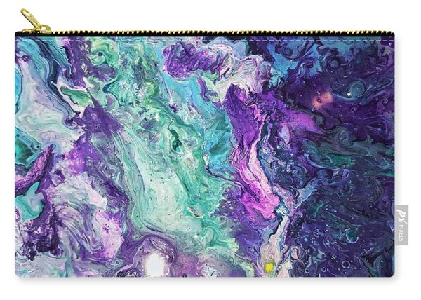 Detail Of Waves 3 Carry-all Pouch