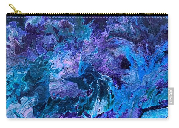 Detail Of Waves 5 Carry-all Pouch