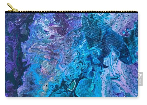Detail Of Waves 6 Carry-all Pouch