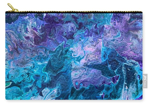 Detail Of Waves 7 Carry-all Pouch