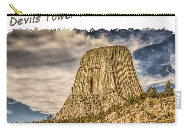 Devils Tower Inspiration 2 Carry-all Pouch