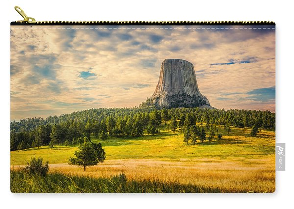 Devil's Tower - The Other Side Carry-all Pouch