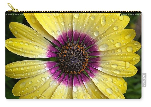 Dew Dropped Daisy Carry-all Pouch