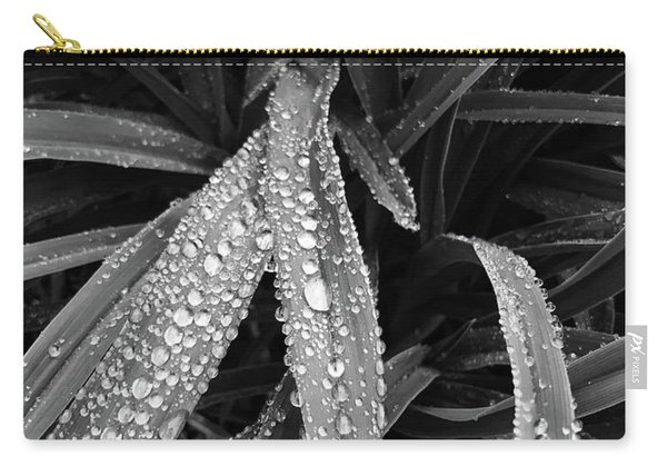 Dew Drops Await The Sun Carry-all Pouch
