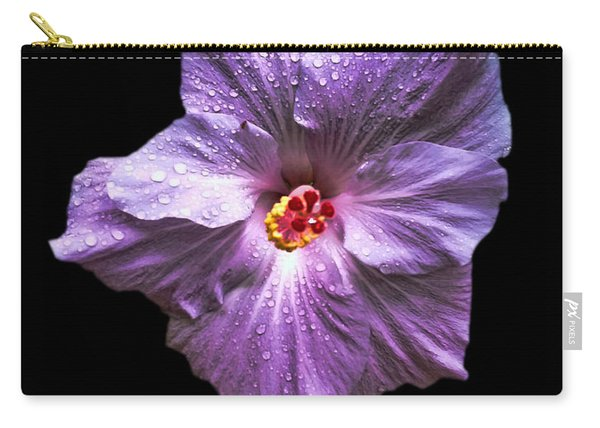 Dew Kissed Hibiscus Carry-all Pouch