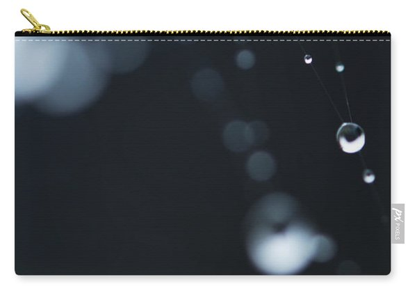 Dewdrops On Cobweb 004 Carry-all Pouch