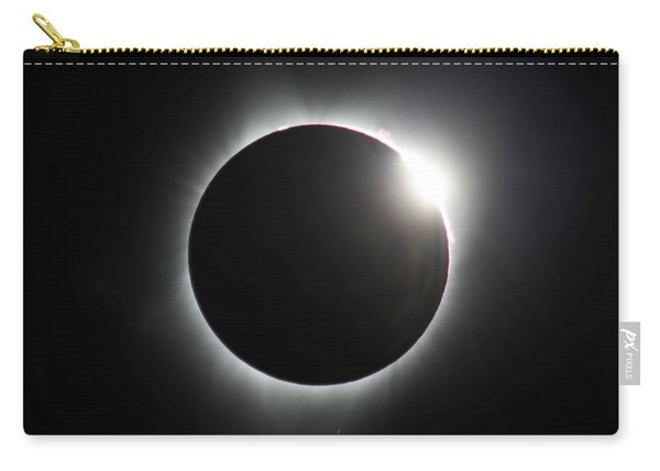 Carry-all Pouch featuring the photograph Diamond Ring Signature Edition by John King
