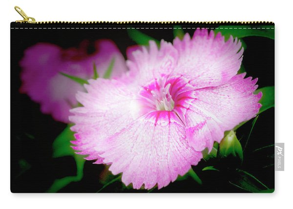 Dianthus Flower Carry-all Pouch