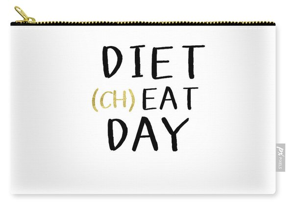 Diet Cheat Day- Art By Linda Woods Carry-all Pouch