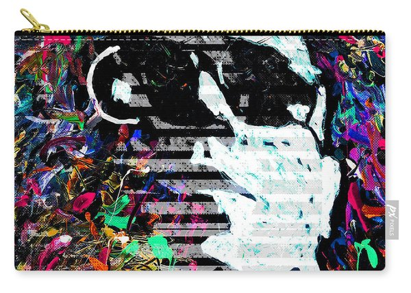 digital Lou Reed Carry-all Pouch