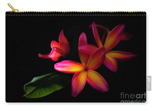 Digitized Sunset Plumerias  Carry-all Pouch