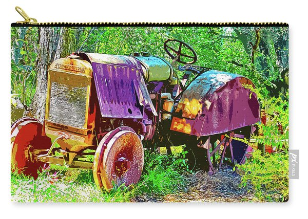 Dilapidated Tractor Carry-all Pouch