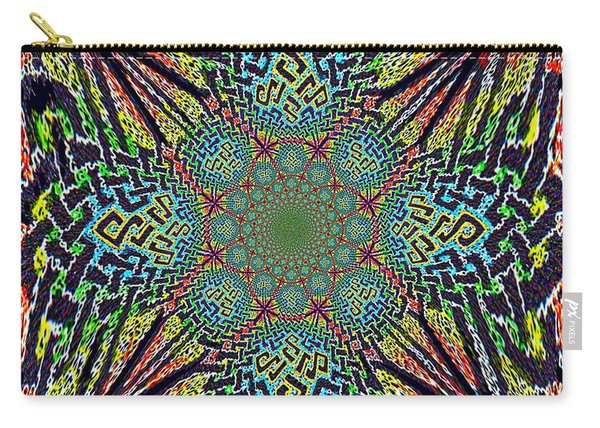 Dimensional Celtic Cross Carry-all Pouch