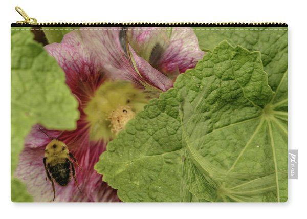 Dimensions Of Bees_flowers Carry-all Pouch